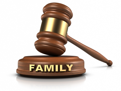 Family-law-gavel
